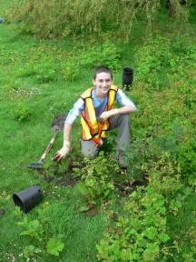 Native species planting &copy Greg Ferguson