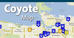 Coyote Sightings Map